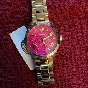 Gold Bling Watch